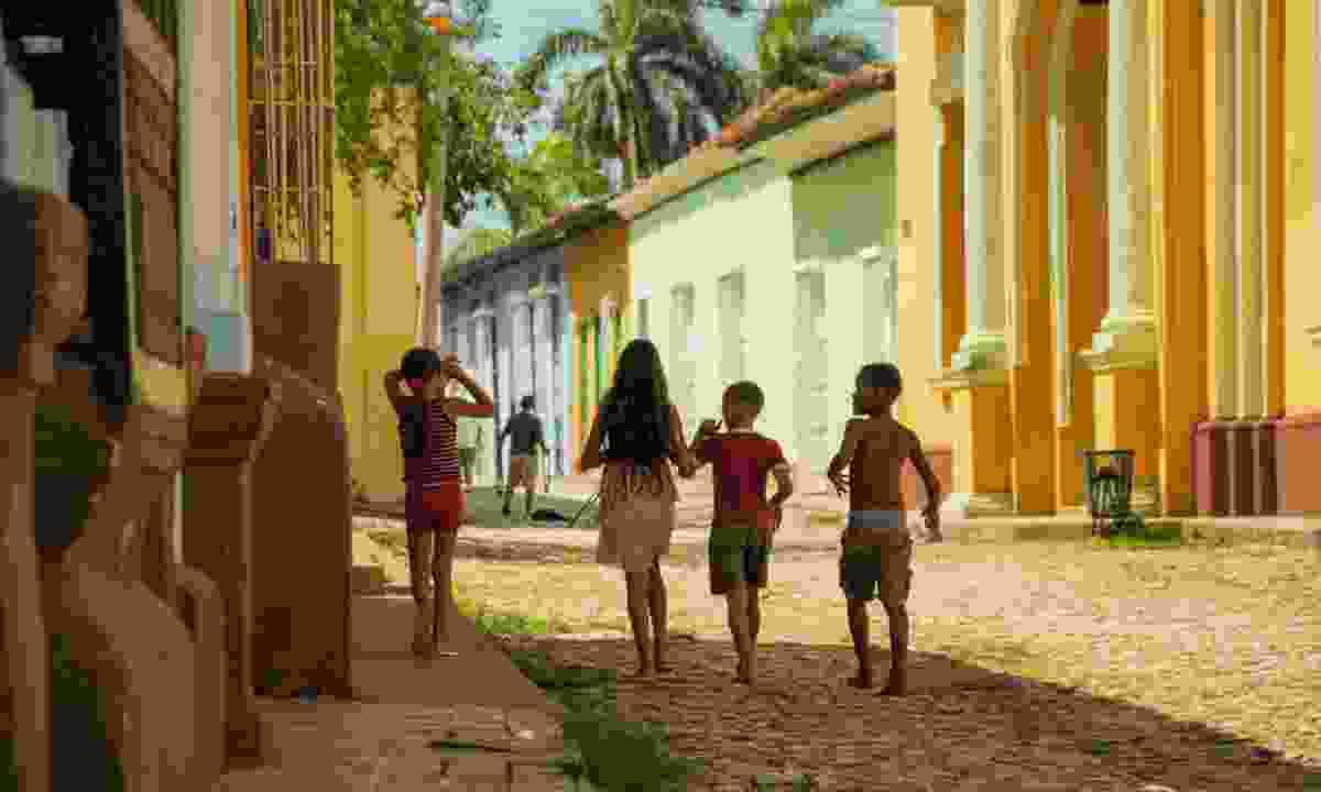 Kids in Trinidad, Cuba (Shutterstock)