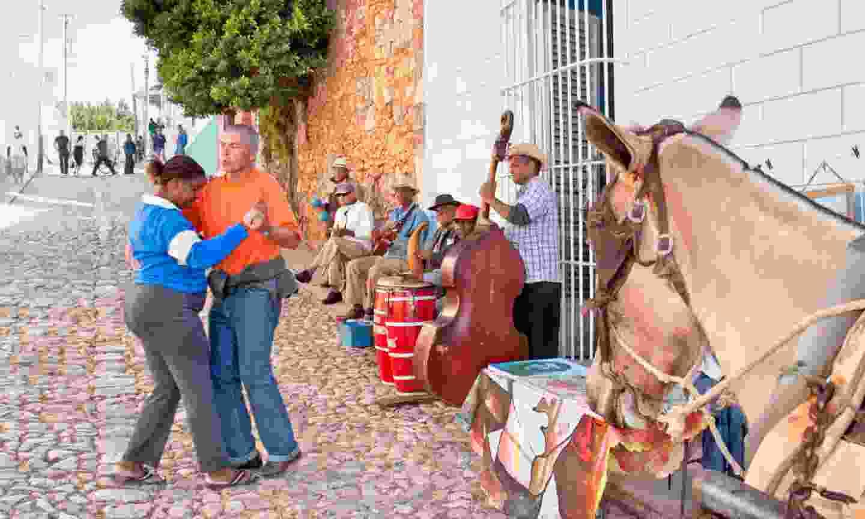 Street band in Trinidad, Cuba (Shutterstock)