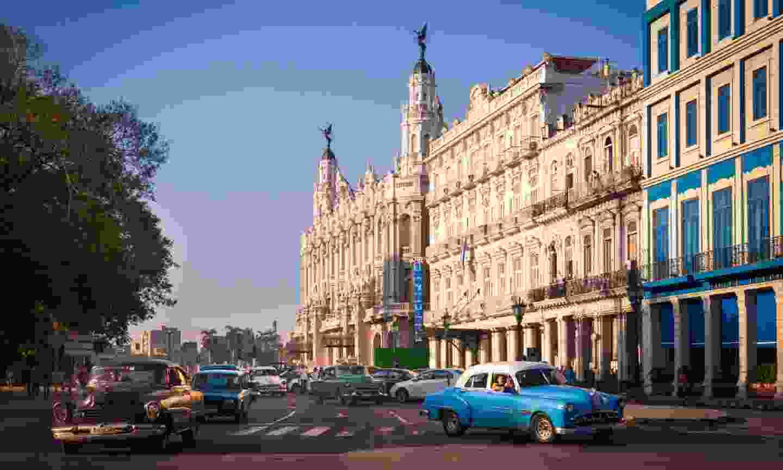 Driving in Havana (Shutterstock)