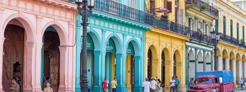 Havana street scene (Shutterstock: see full credit below)
