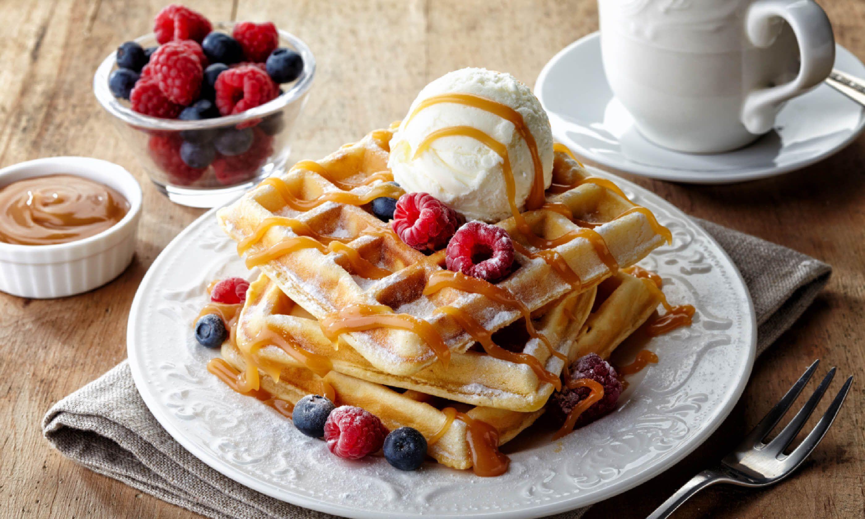Belgian waffles (Shutterstock)