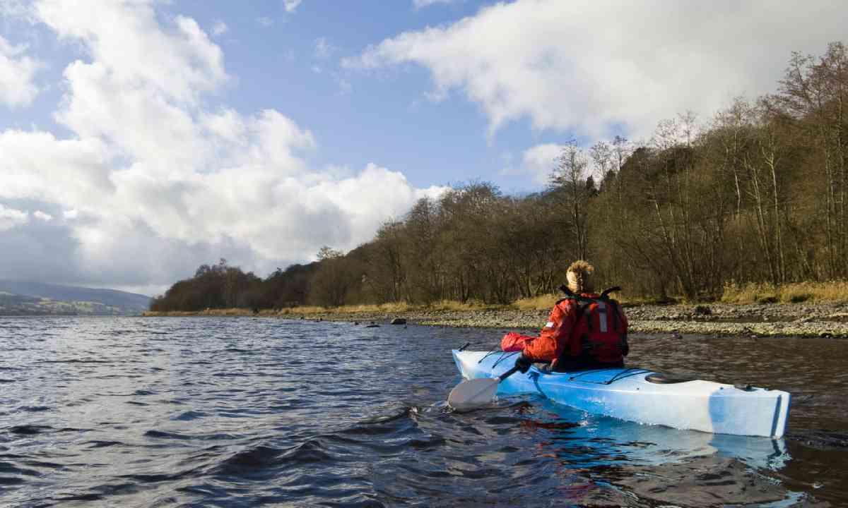 Kayaking on Llyn Tegid (Bala Lake) (Shutterstock)
