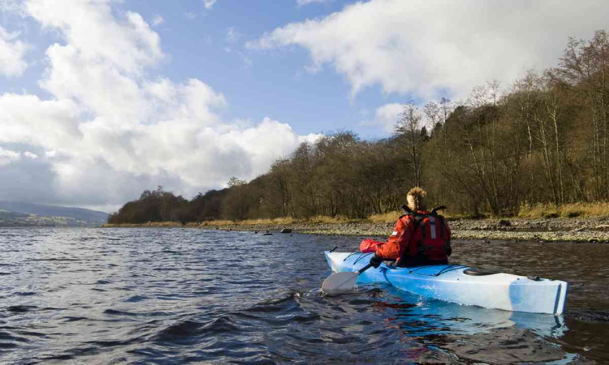 Kayaking on Llyn Tegid (Bala Lake) (Shutterstock)