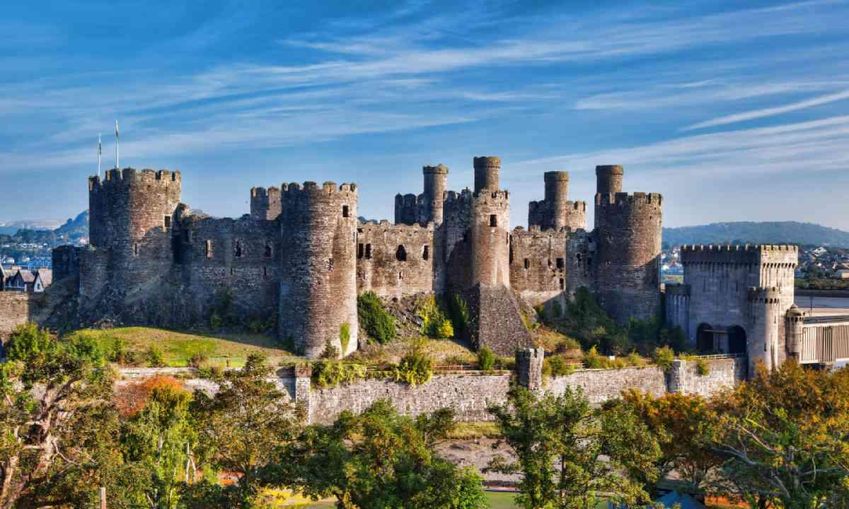 Conwy Castle in Wales (Shutterstock)