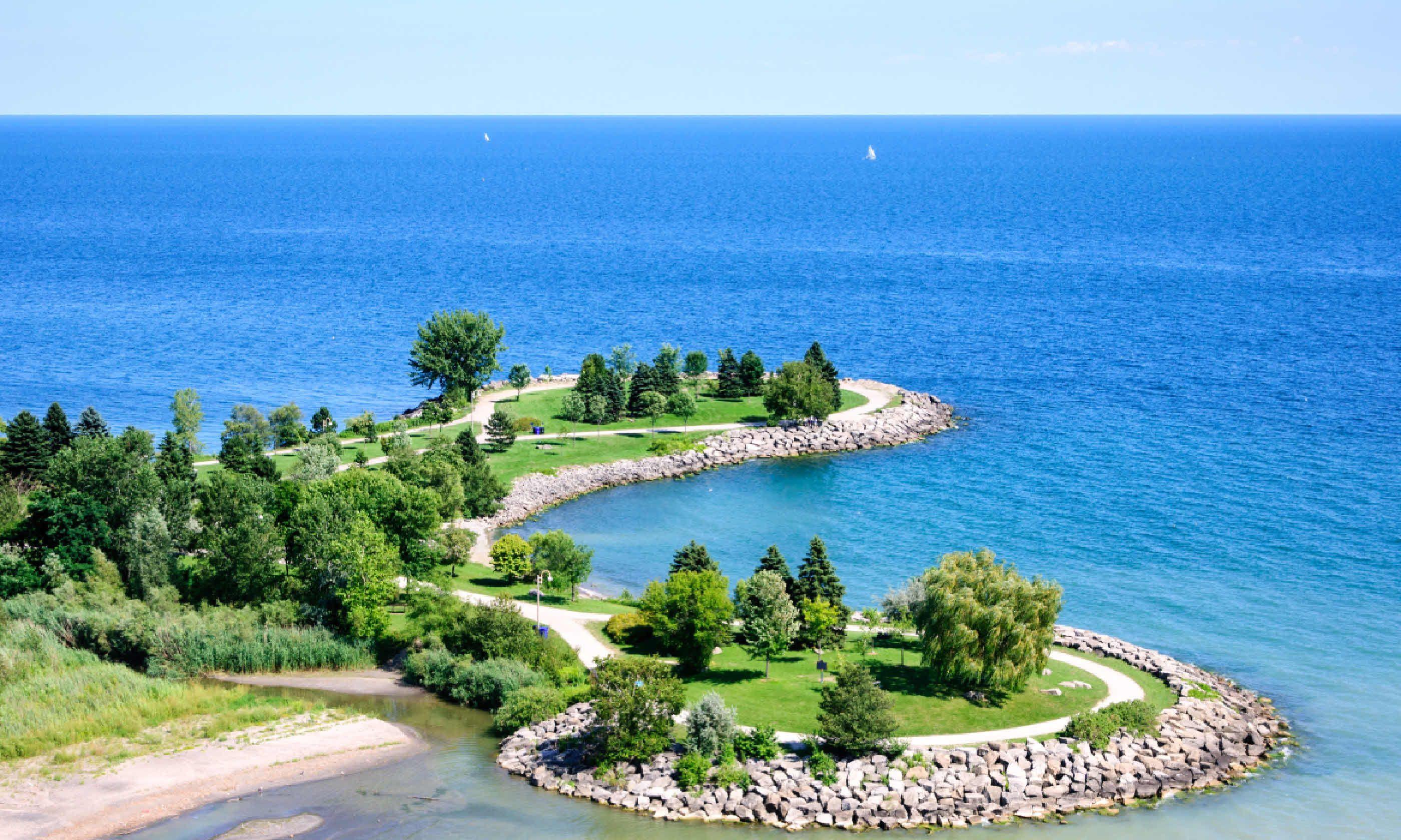Scarborough Bluffs, Toronto (Shutterstock)