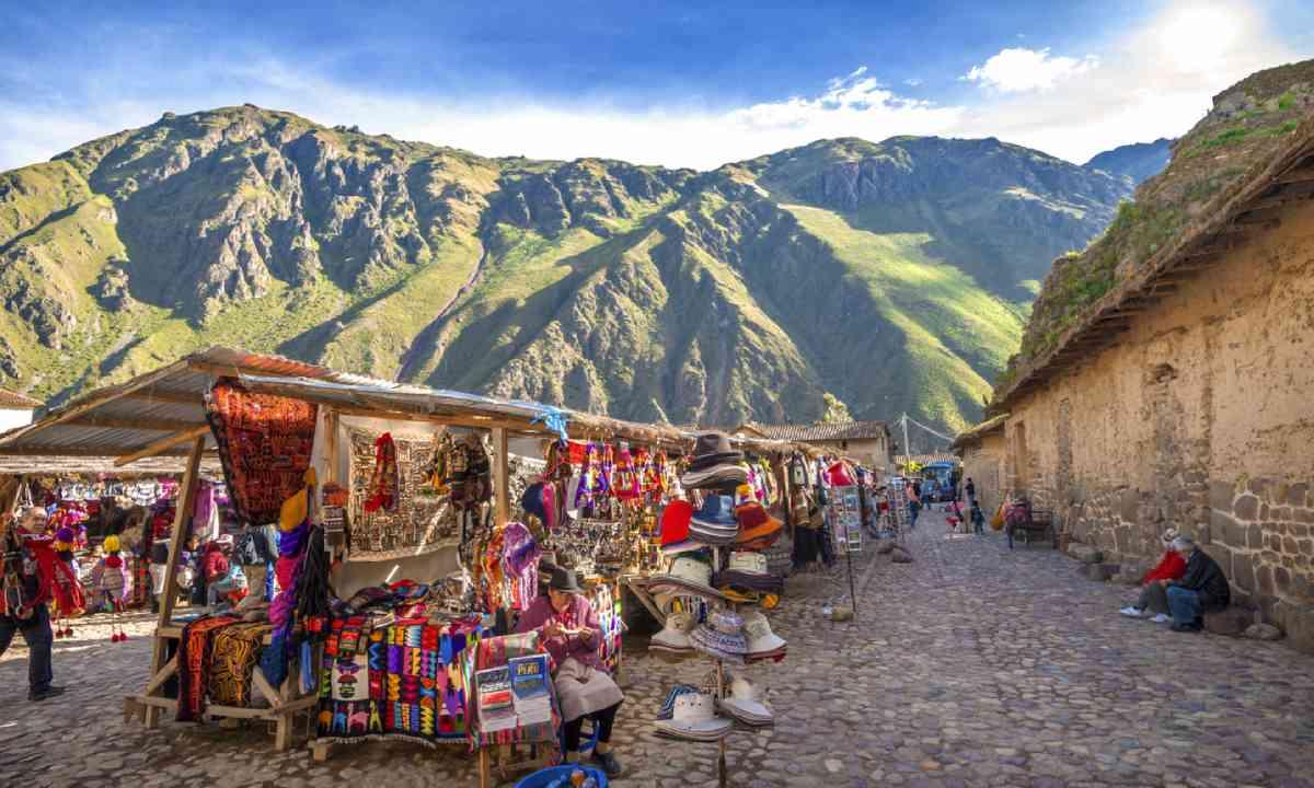 Ollantaytambo, Cusco, Peru (Shutterstock)