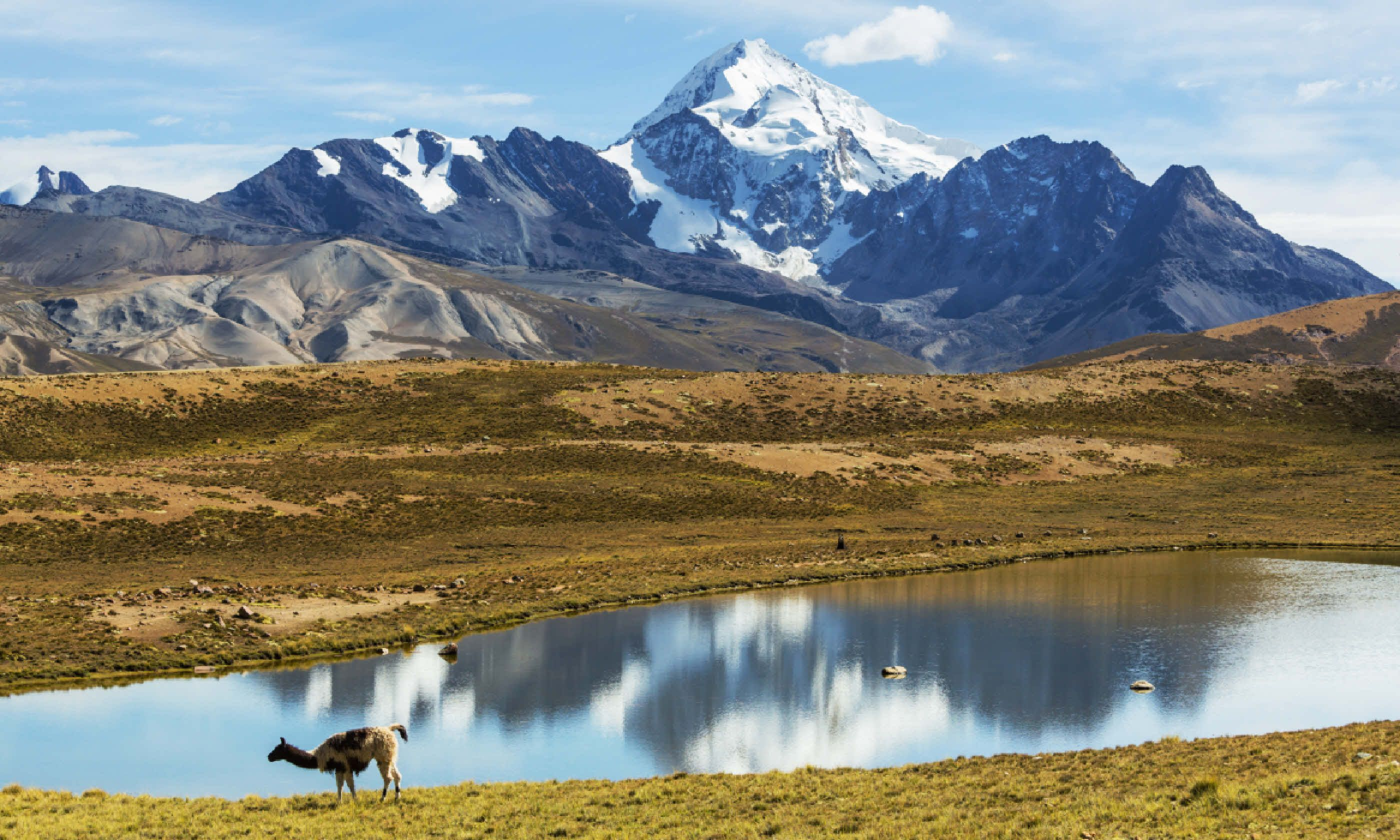 High mountains in Bolivia (Shutterstock)