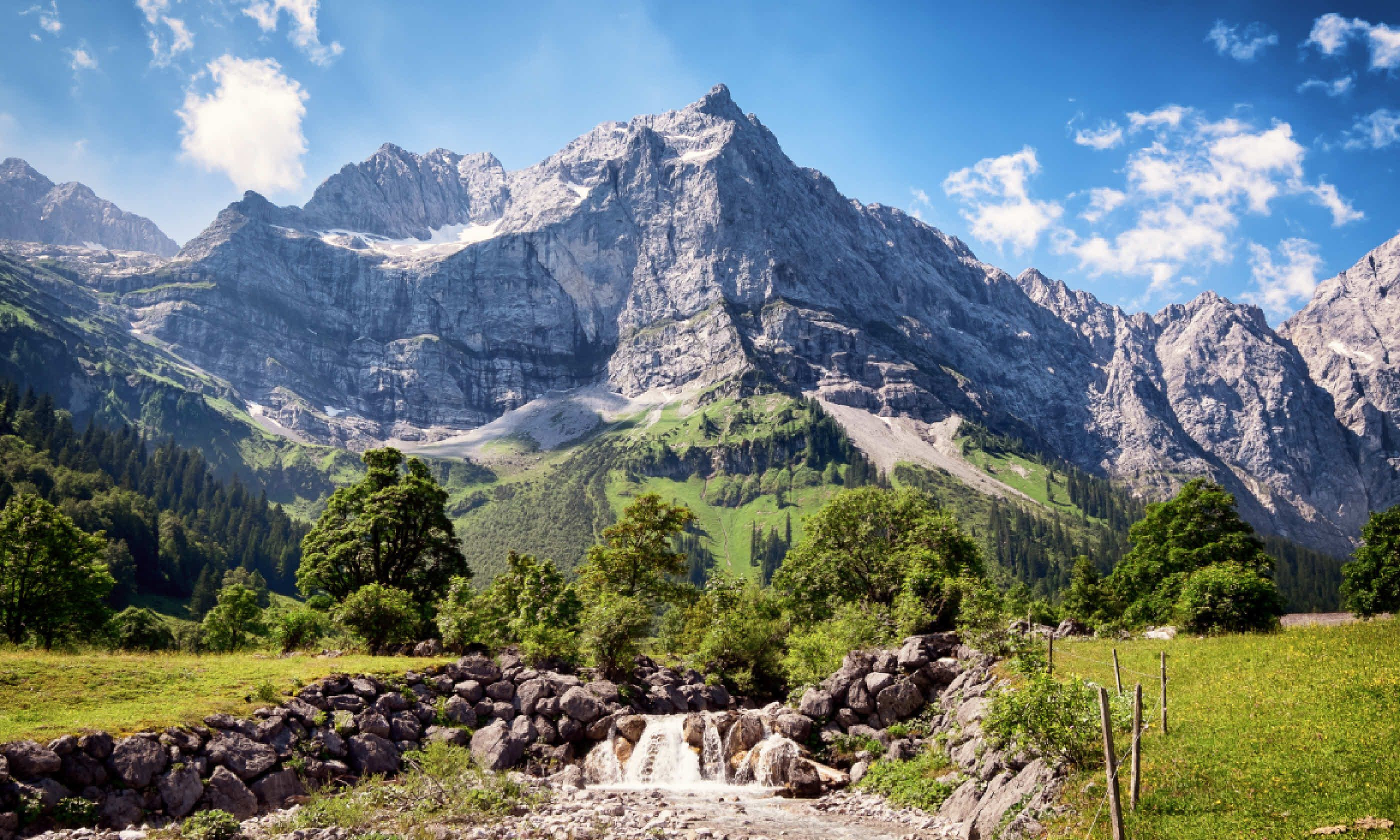 Karwendel mountains in Austria (Shutterstock)