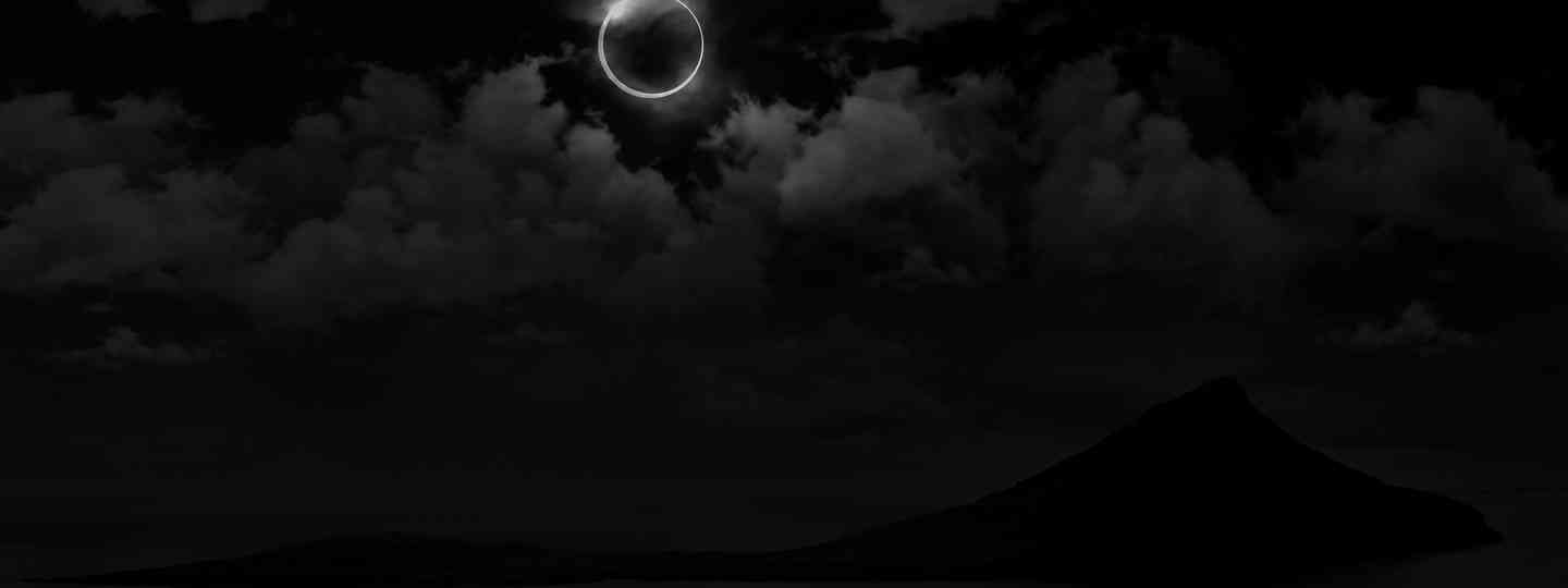 Total eclipse (Visit Faroe Islands)