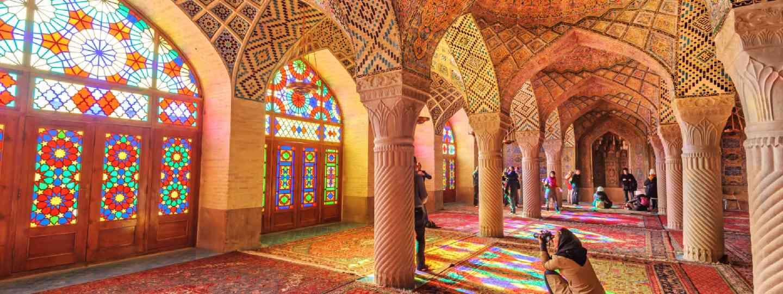 Nasir Al-Mulk Mosque in Shiraz, Iran (Shutterstock: see credit below)