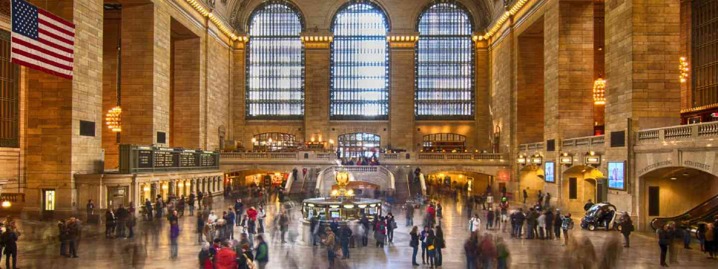 Grand Central Station (Shutterstock: see credit below)