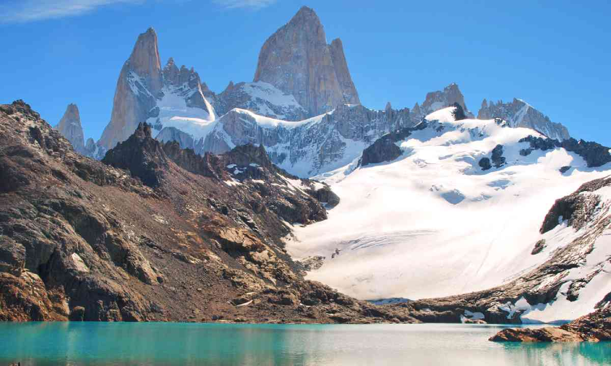 Mt Fitz Roy and Laguna de Los Tres in Los Glaciares National Park (Shutterstock)