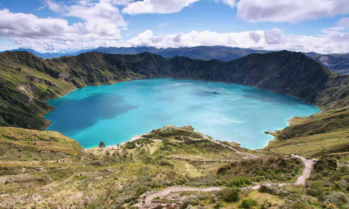 Quilotoa caldera (Shutterstock)