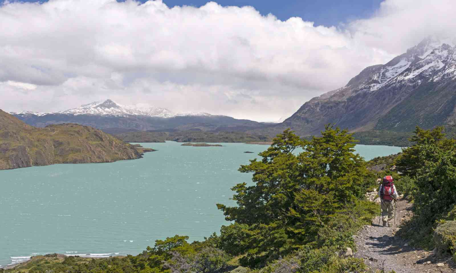 Lake Nordernskjold in Torres del Paine National Park (Shutterstock)
