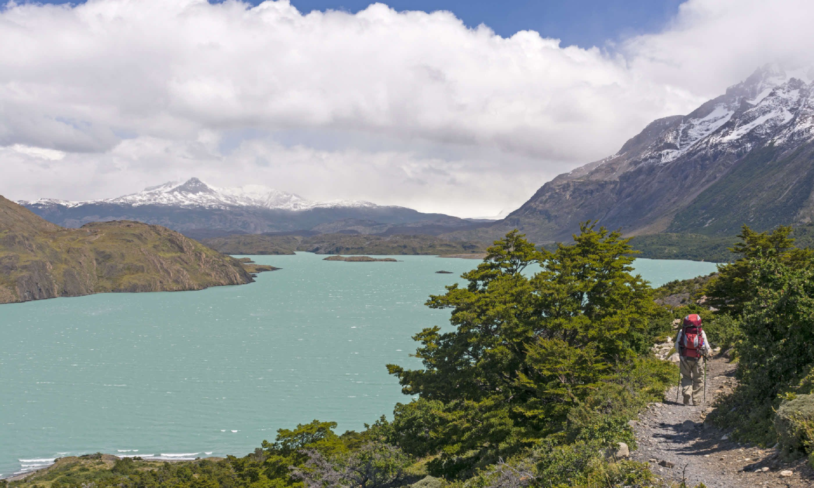 Lake Nordernskjold in Torres del Paine National Park (Shutterstock)