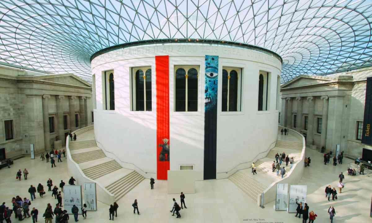 The British Museum in London (Shutterstock)