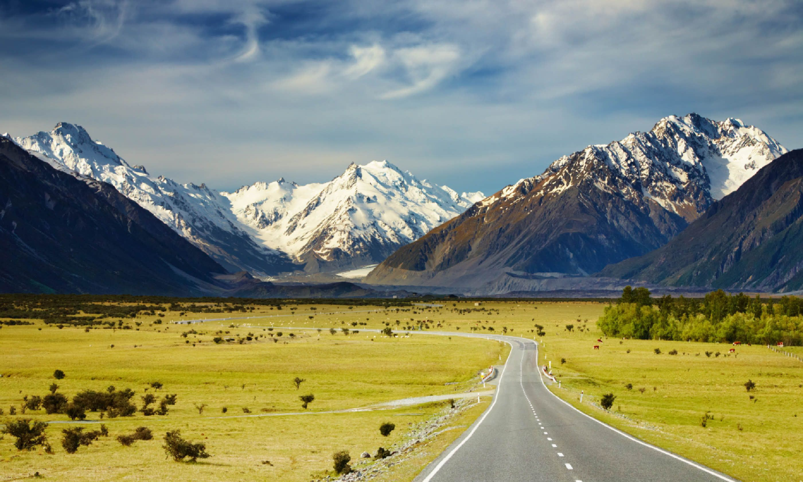 Southern Alps, New Zealand (Shutterstock)