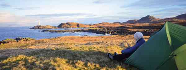 4 of the UK's best wild camping spots (Photo: Phoebe Smith)