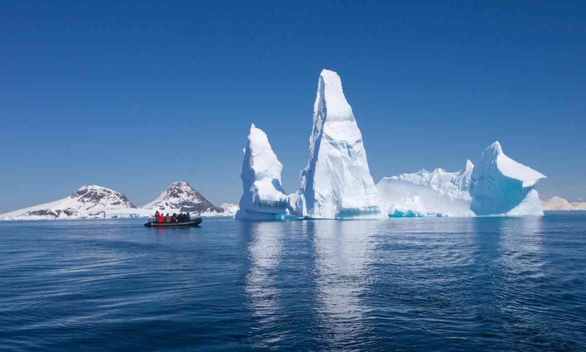 Reflection of Iceberg, Antarctica (Shutterstock)