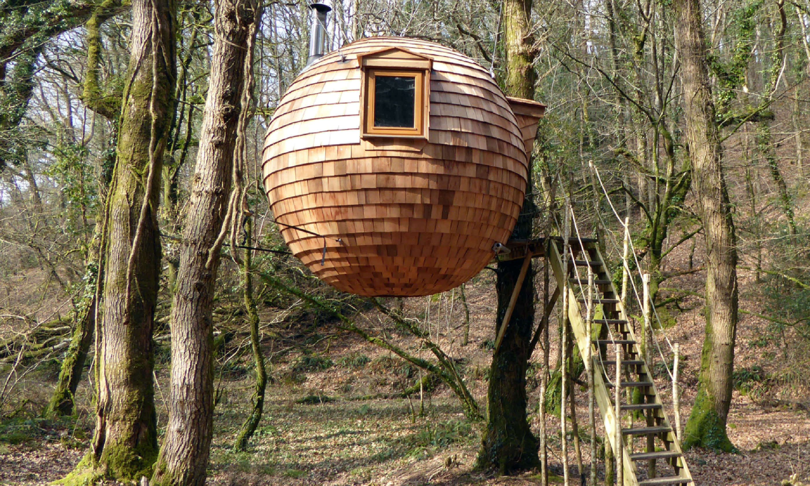 Lost Meadow Treehouse (Canopy And Stars)