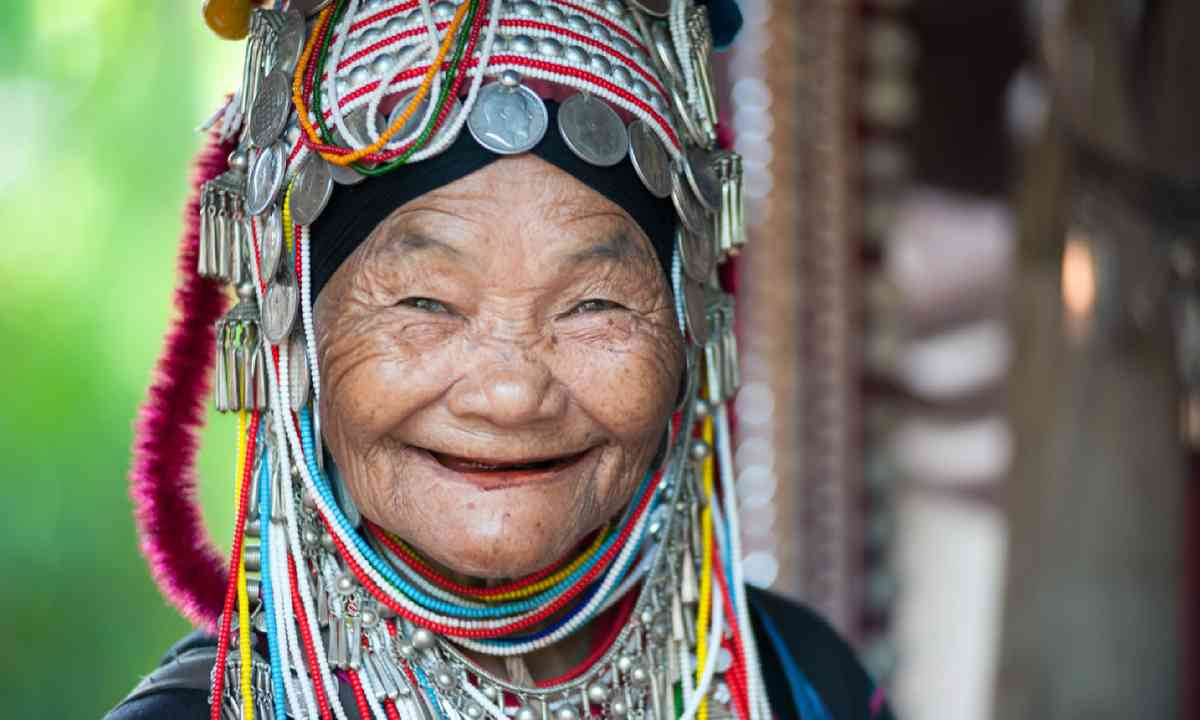 Akha tribe elderly woman (Shutterstock)