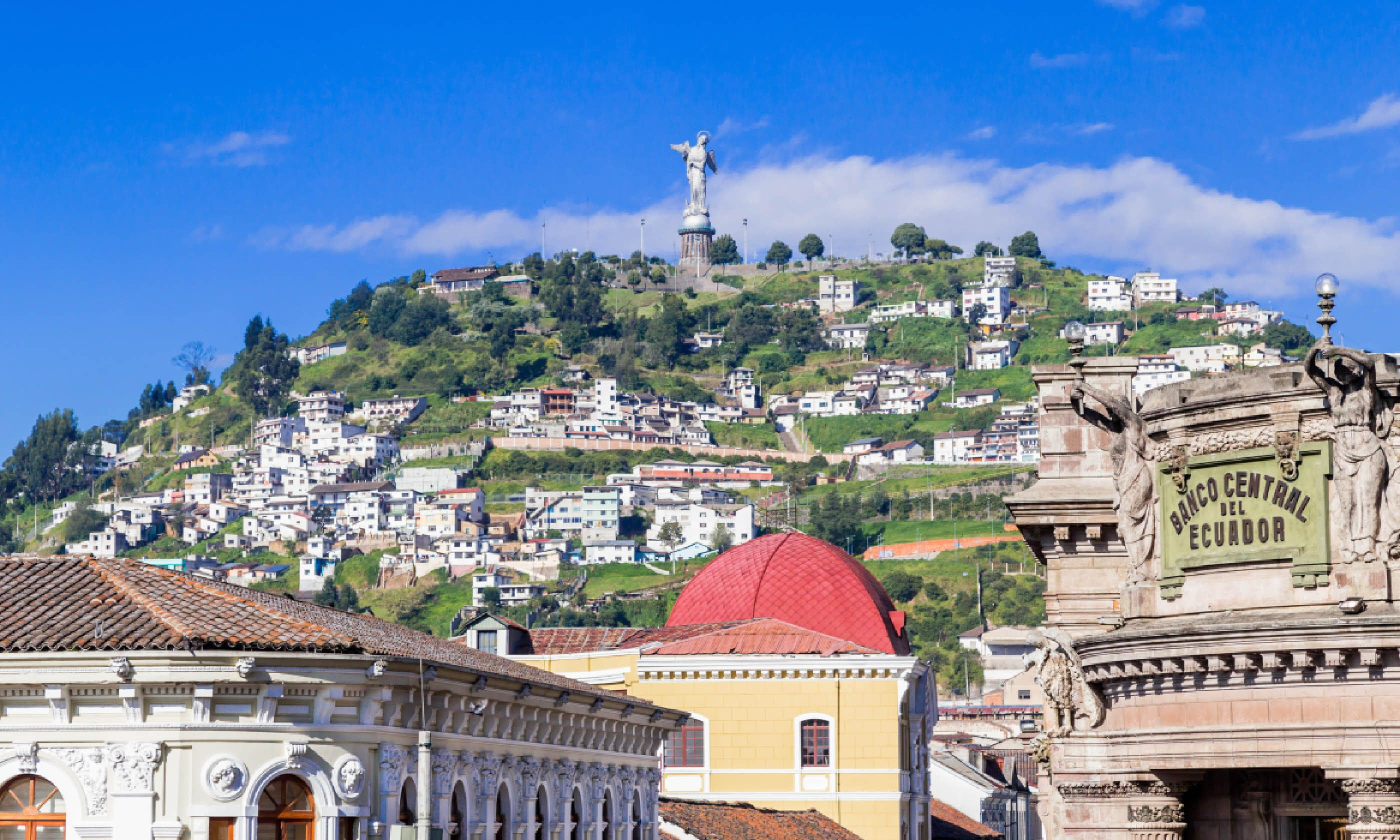 Sculpture of the Virgin in Panecillo Hill, Quito (Shutterstock)