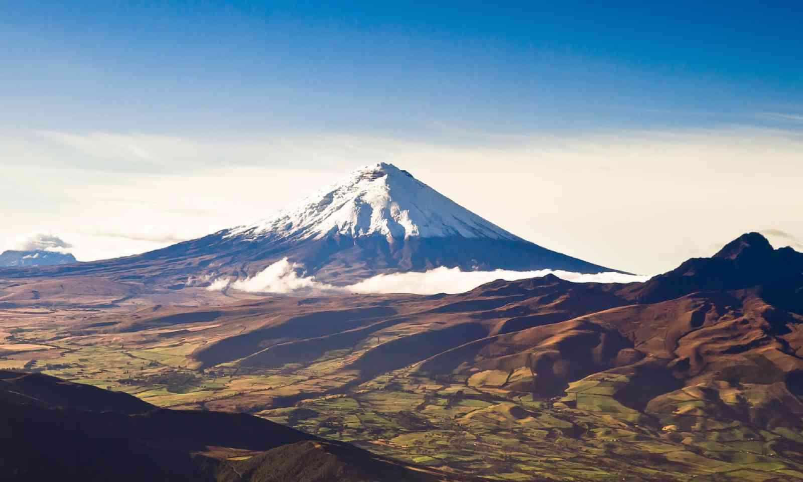 Cotopaxi volcano, Ecuador (Shutterstock)