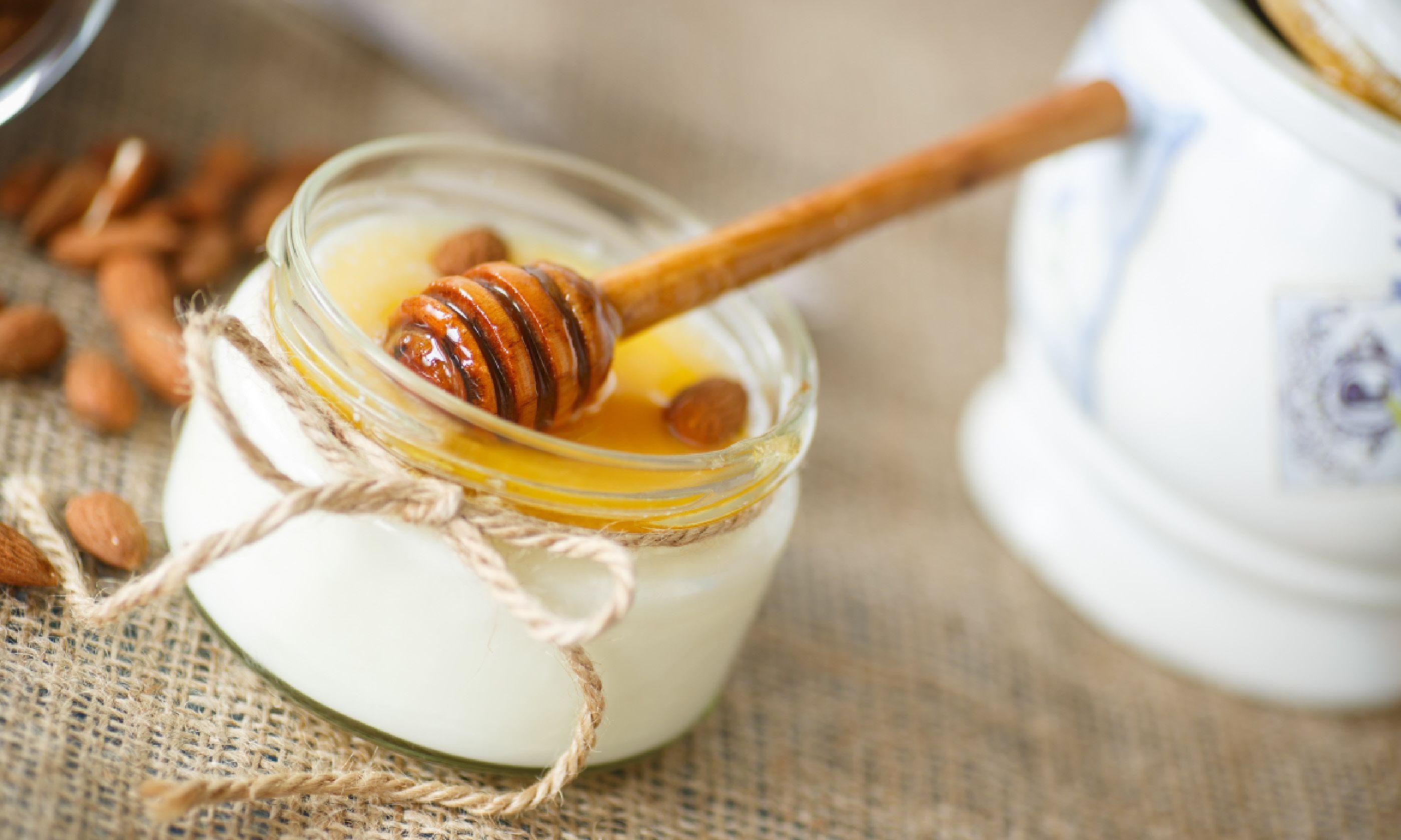 Honey and yoghurt (Shutterstock)