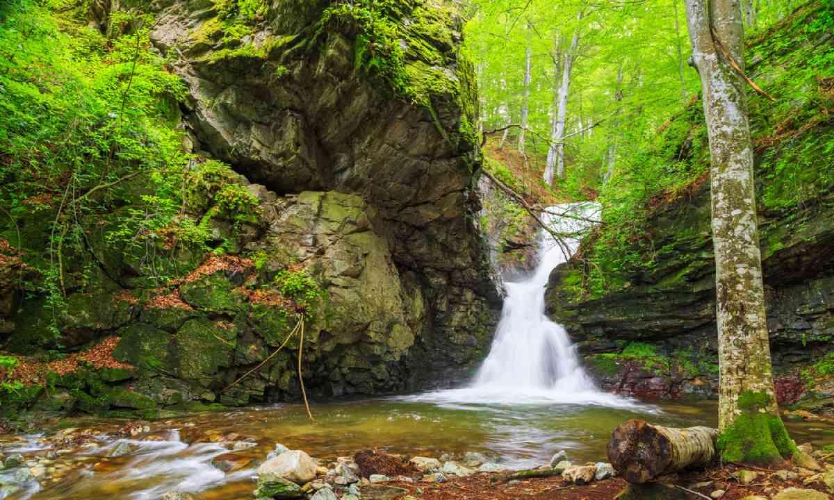 Waterfall in Bulgari (Shutterstock)