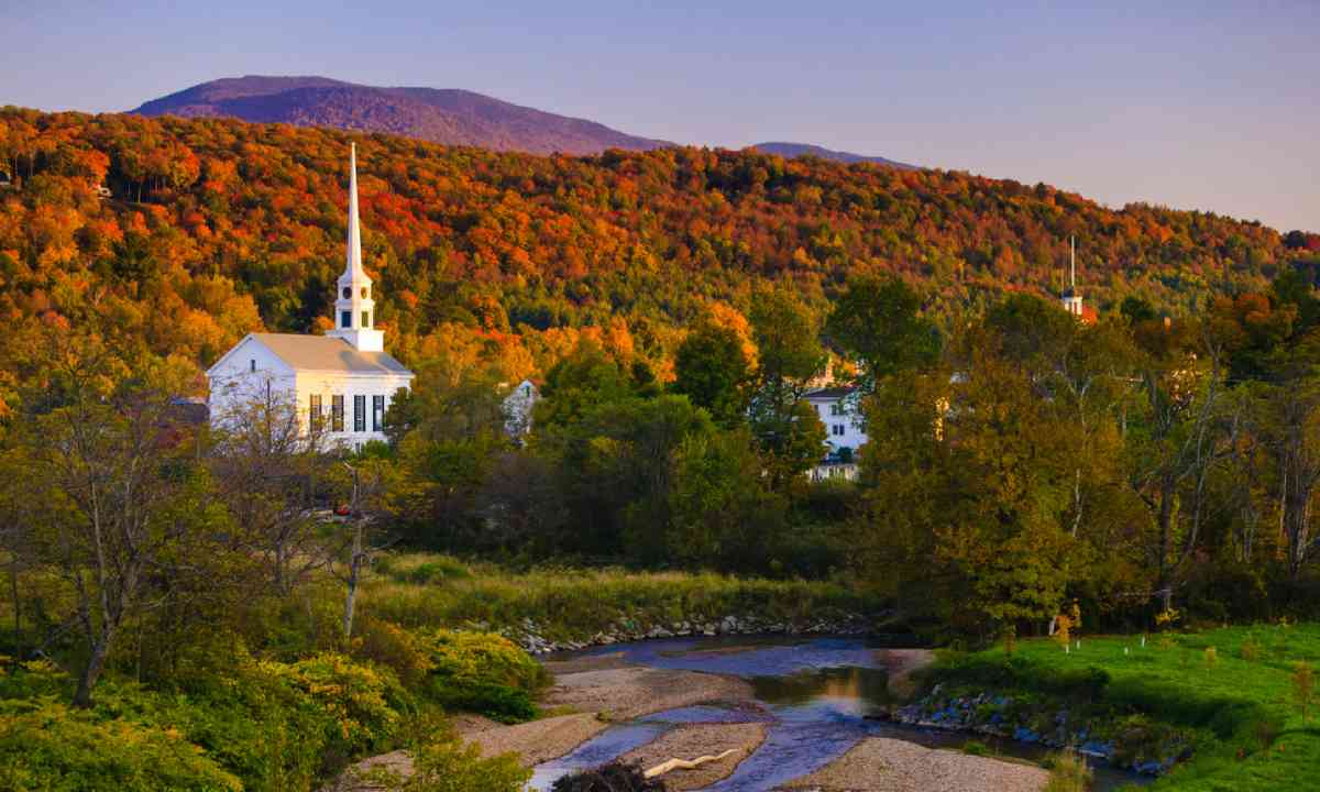Fall foliage, Vermont (Shutterstock)