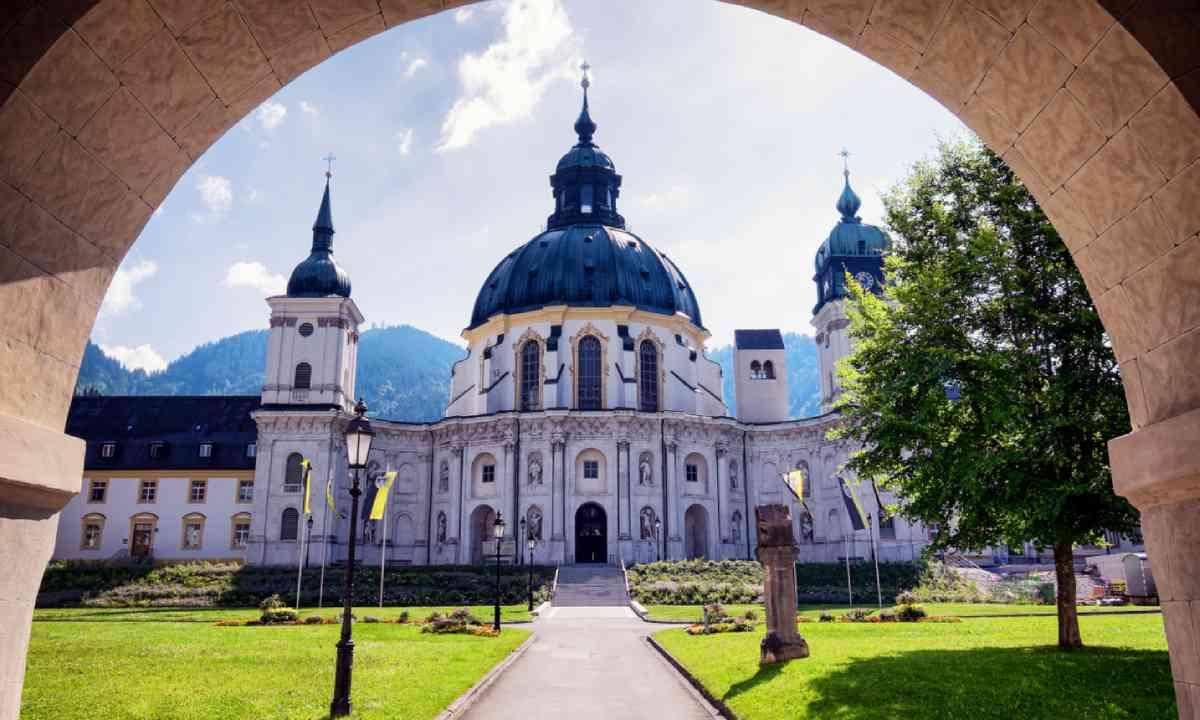 Ettal monastery, Bavaria (Shutterstock)