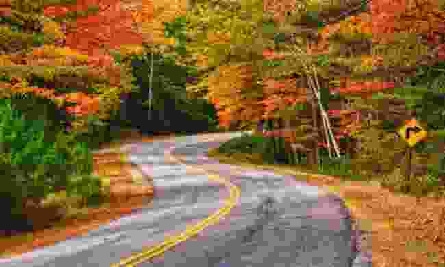 Autumn in New England (Shutterstock)