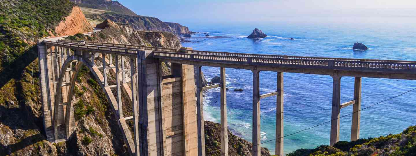 Bixby Bridge, Big Sur (Shutterstock: see credit below)
