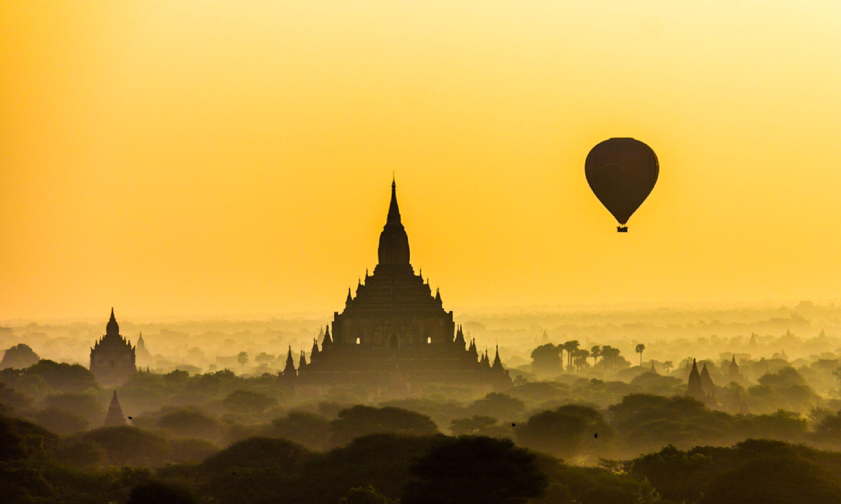 Bagan, Burma (Shutterstock)