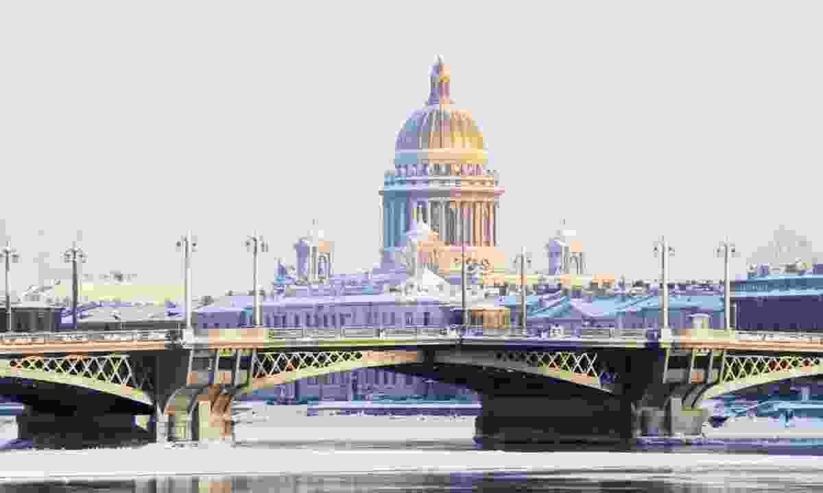 St Petersburg, Russia, in winter (Regent Holidays)