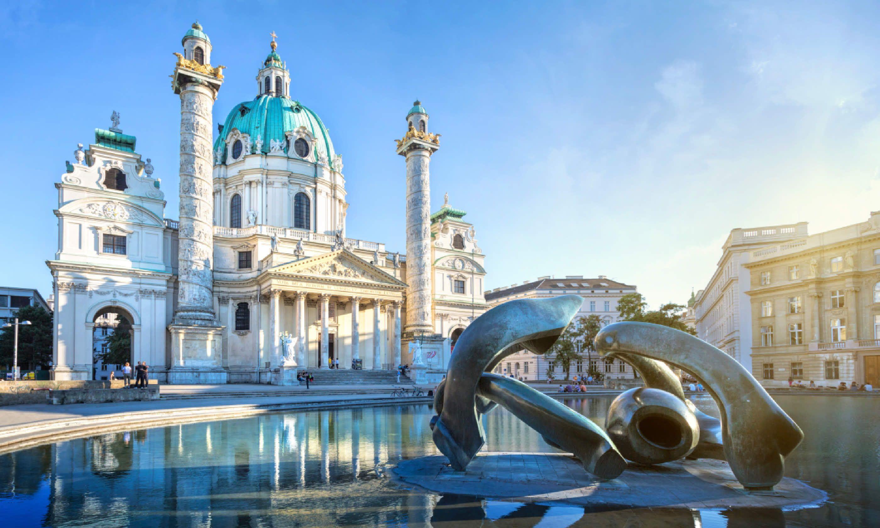 St. Charles's Church in Vienna, Austria (Shutterstock)