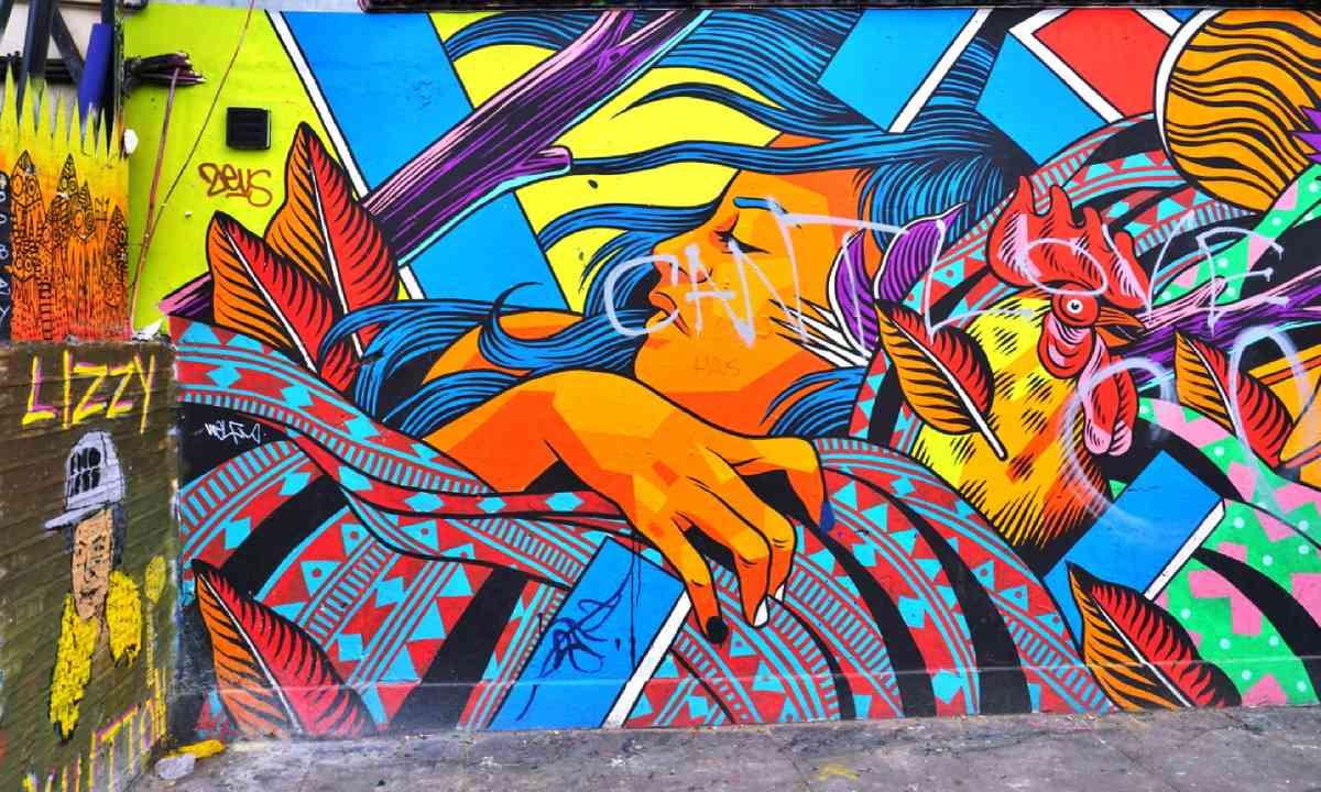 Street art in Shoreditch (Shutterstock)