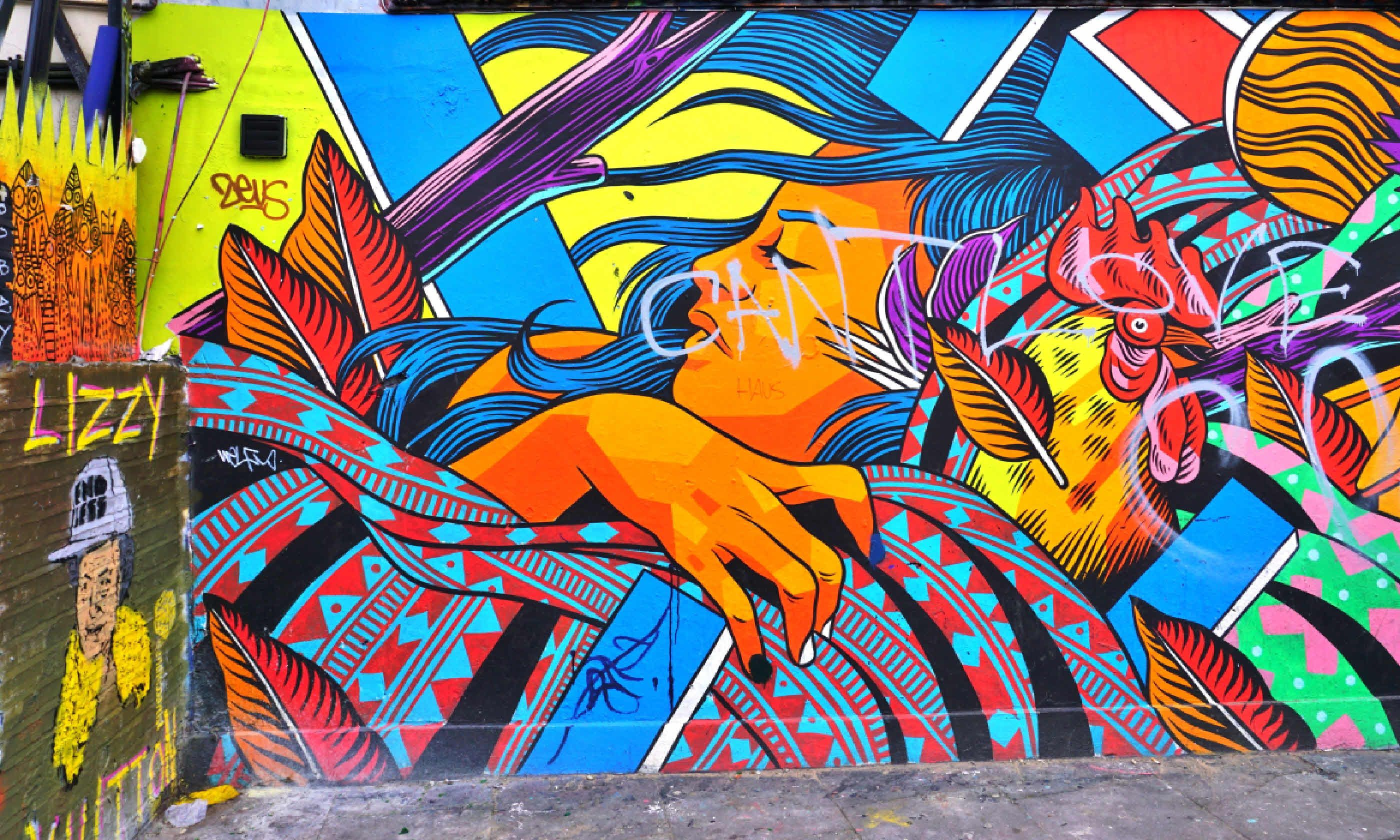 Street art in Shoreditch (Shutterstock)