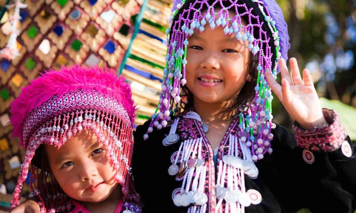 Akha children in Chiang Mai (Shutterstock)