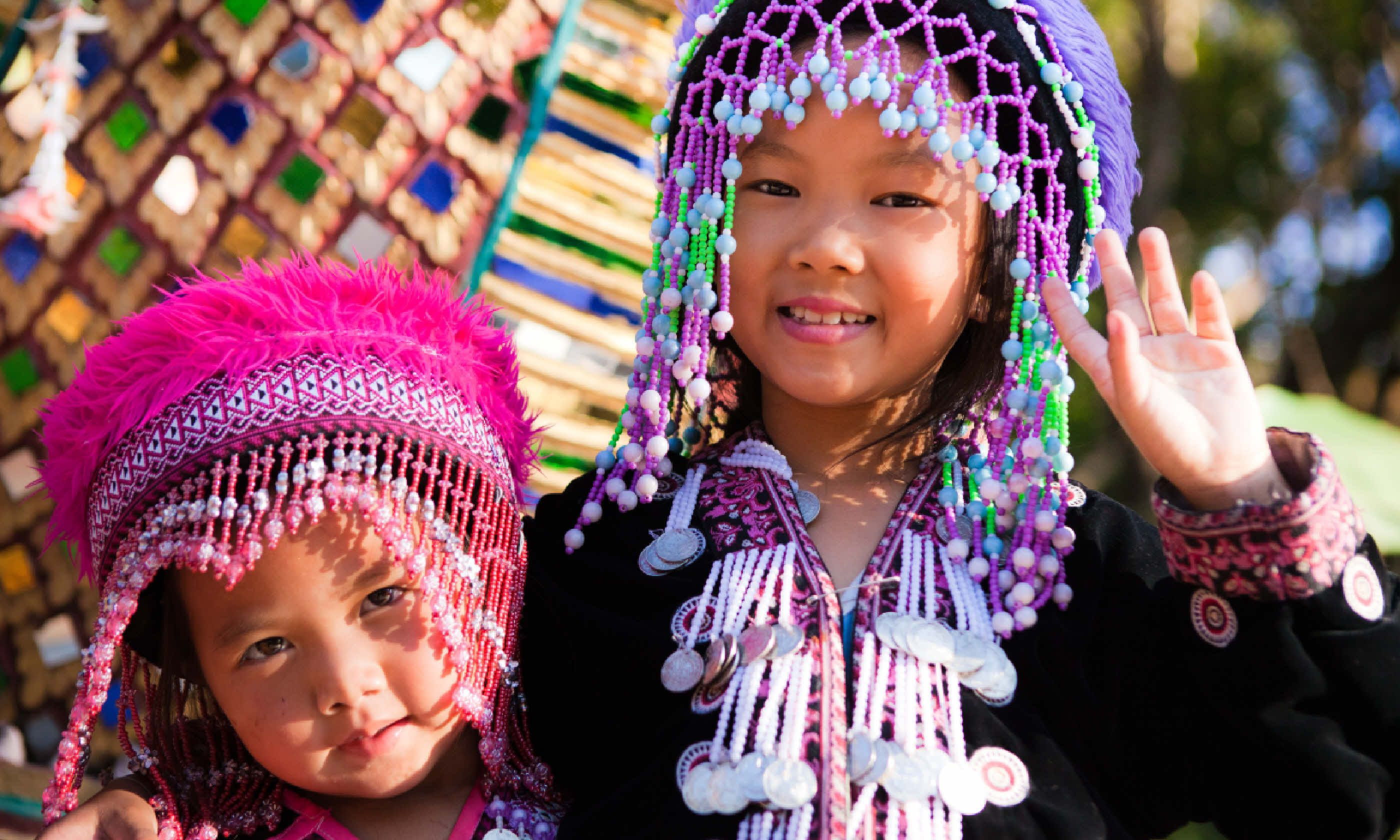 Akha children in Chiang Mai (Shutterstock)