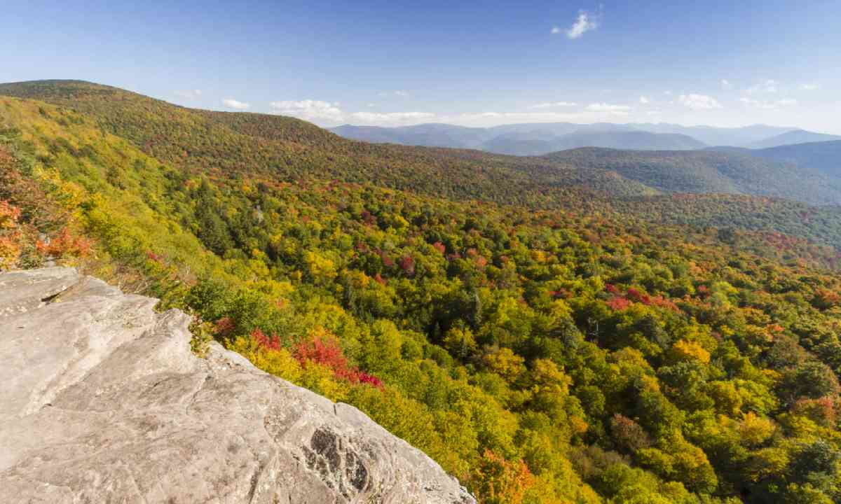 Giant Ledge in the Catskills Mountains (Shutterstock)