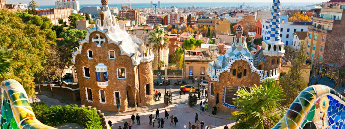 Parc Guell, Barcelona (Shutterstock: see credit below)