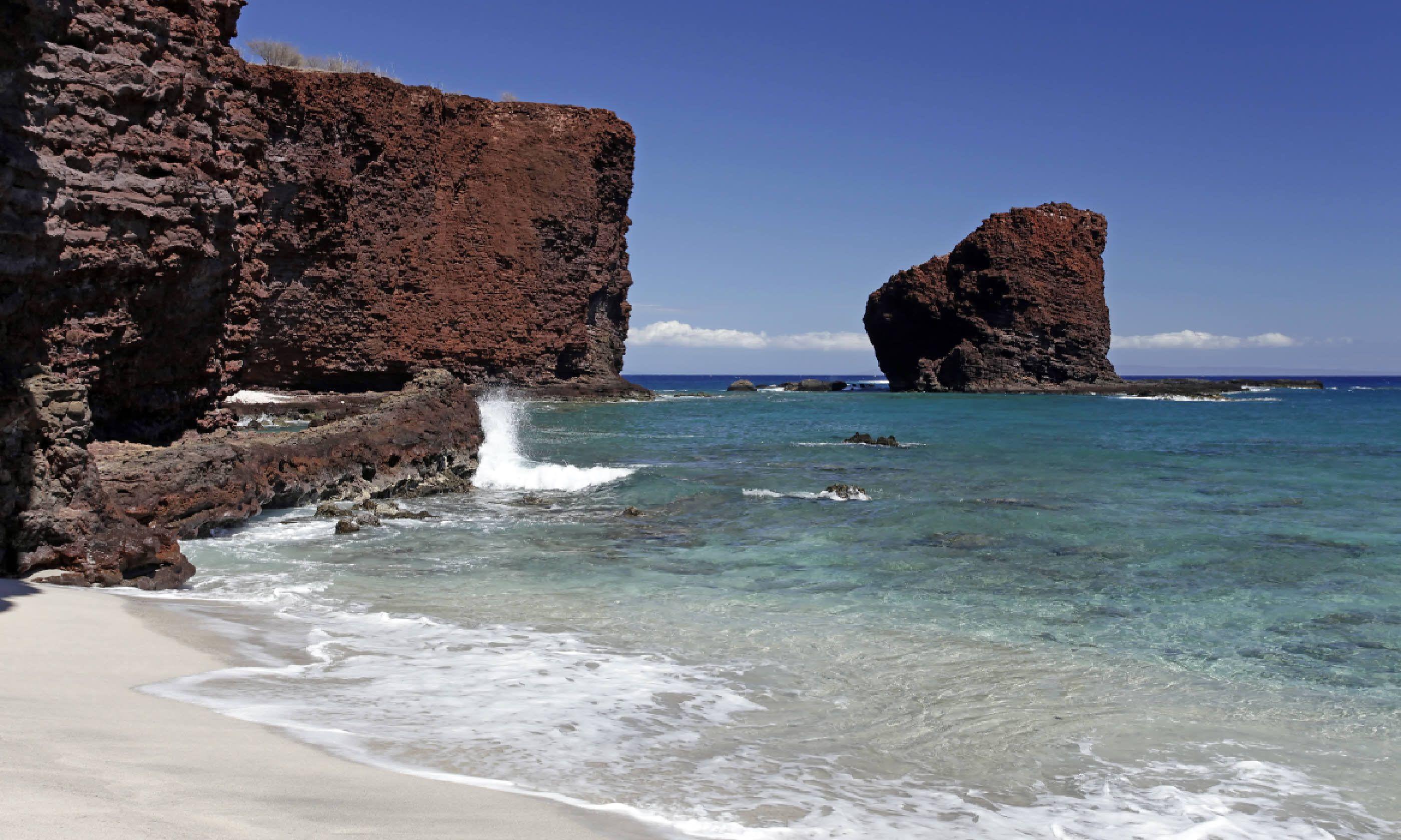 Sweetheart Rock – Island of Lanai, Hawaii (Shutterstock)
