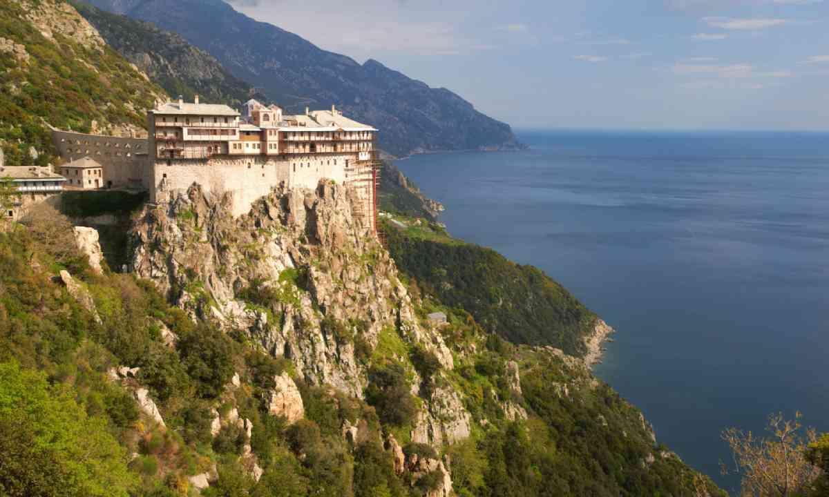 Simonos Petras Monastery, Mount Athos (Shutterstock)