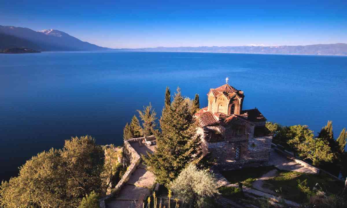 Lake Ohrid, Macedonia (Shutterstock)