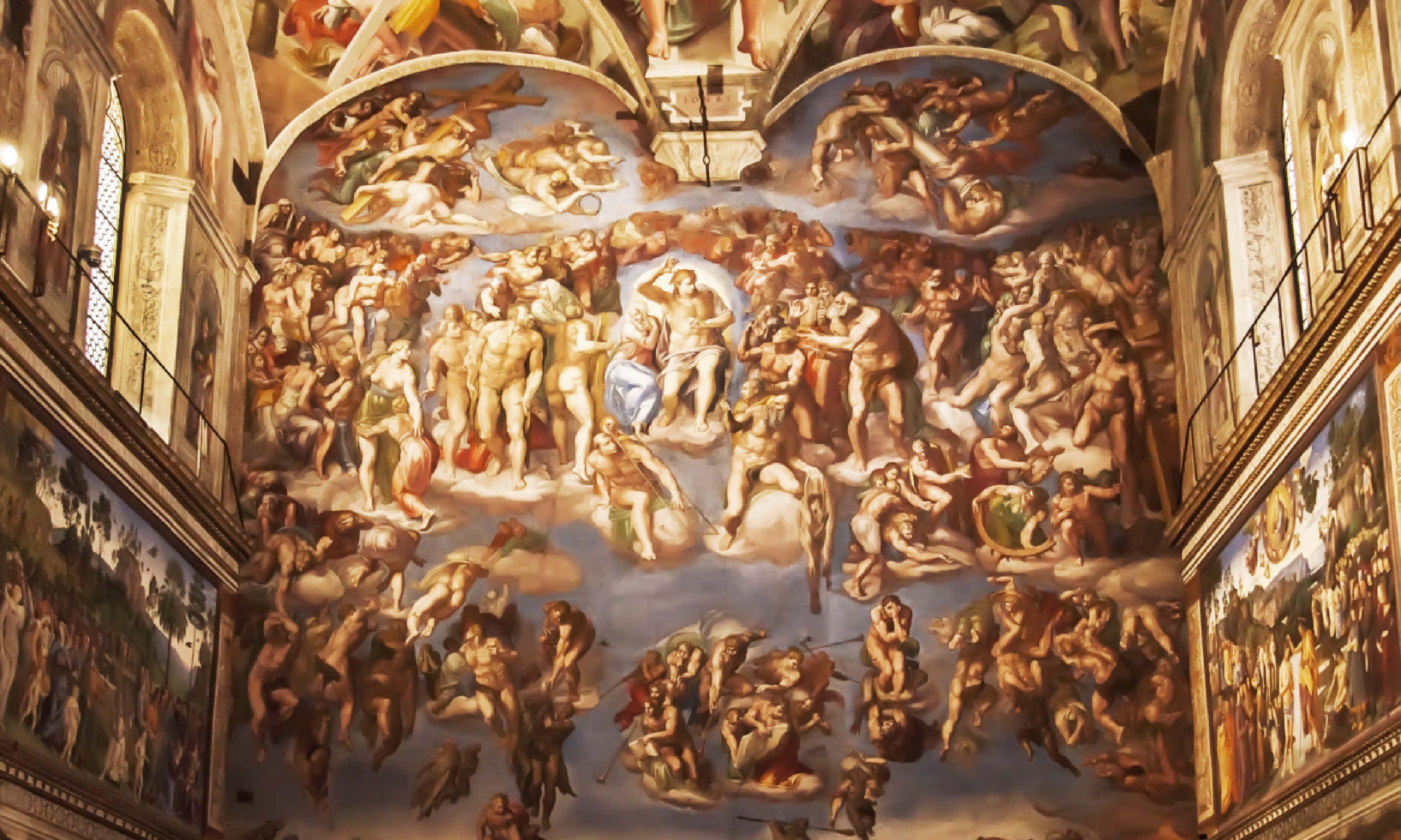Sistine Chapel (Shutterstock)
