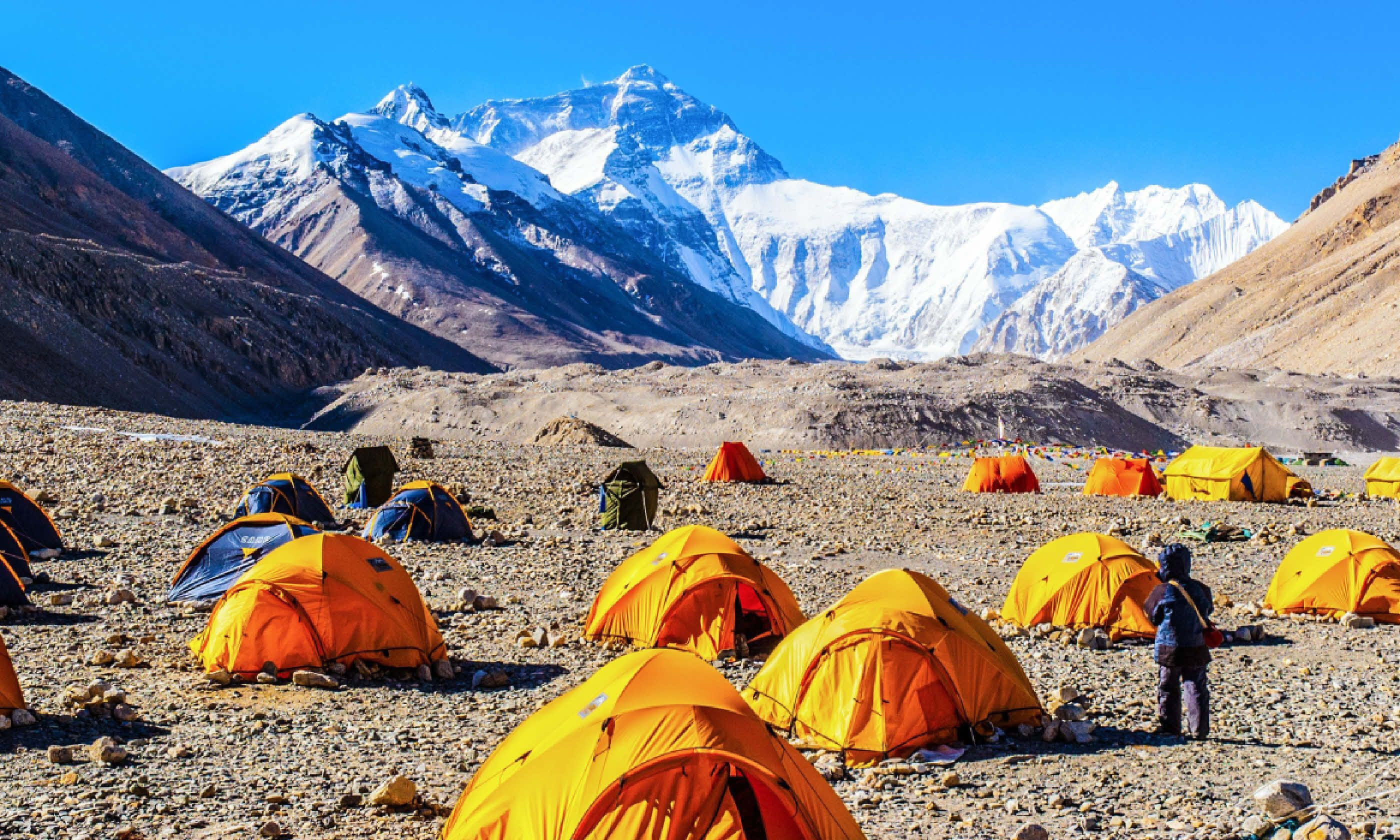 Everest base camp (Shutterstock)