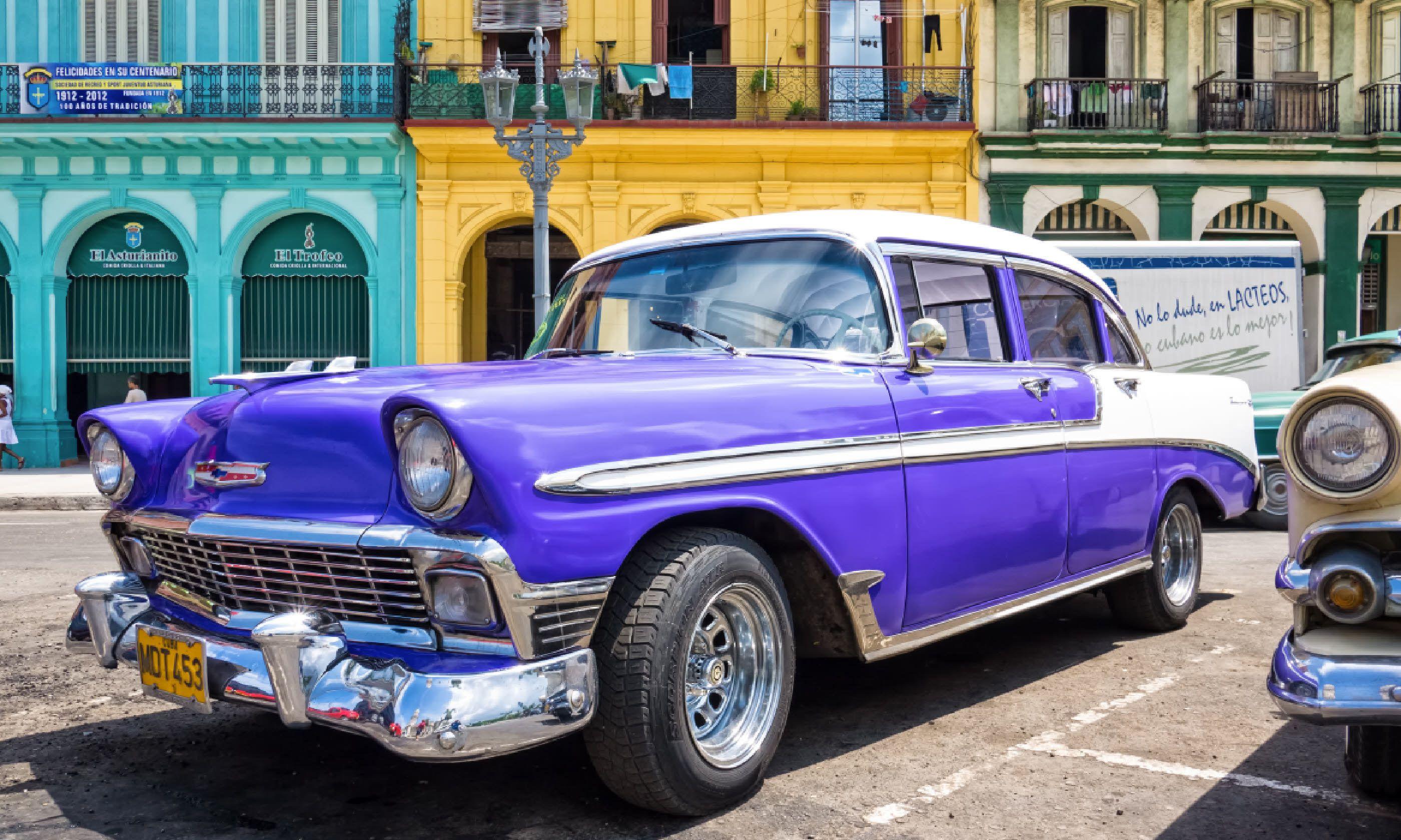 Classic car, Havana (Shutterstock)