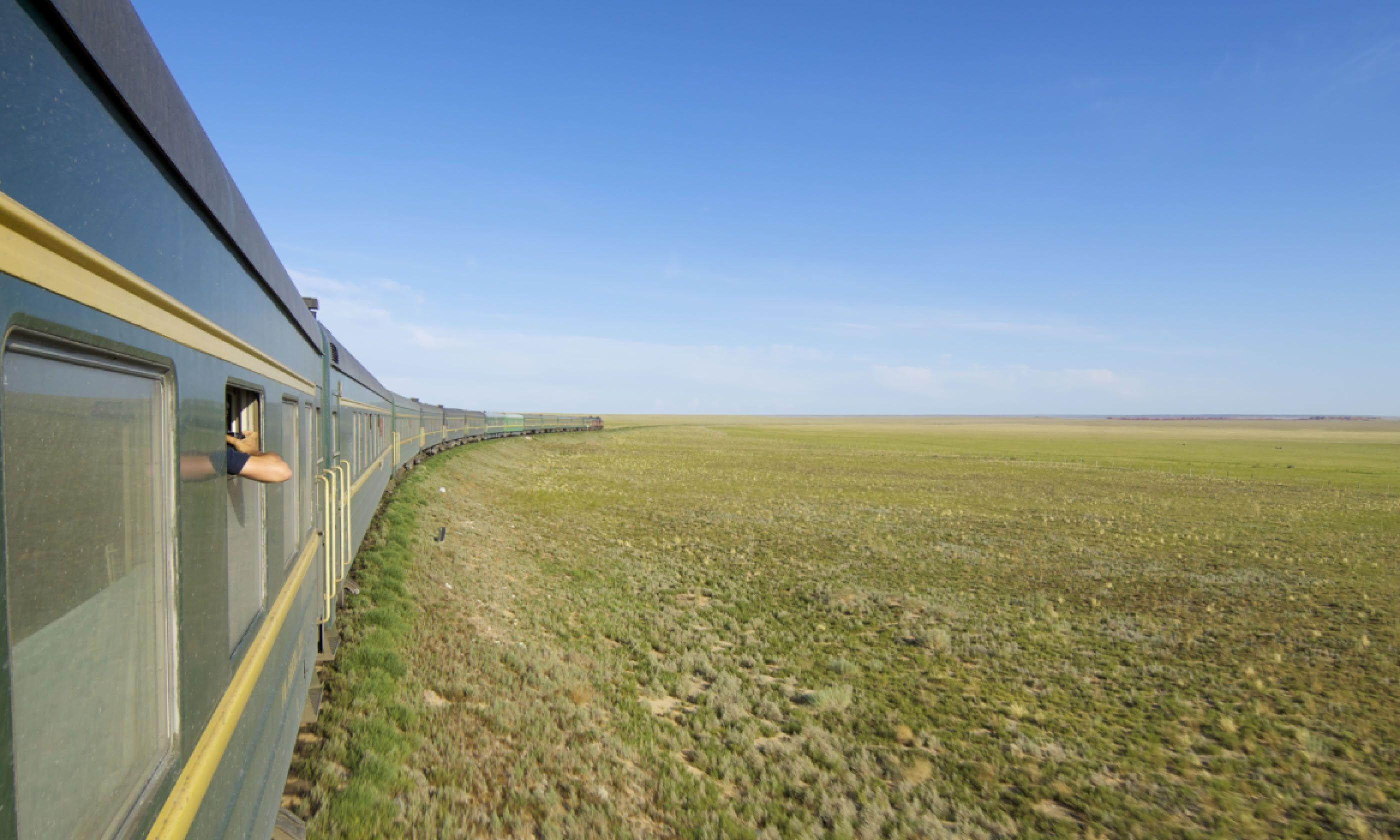Trans Mongolian train (Shutterstock)