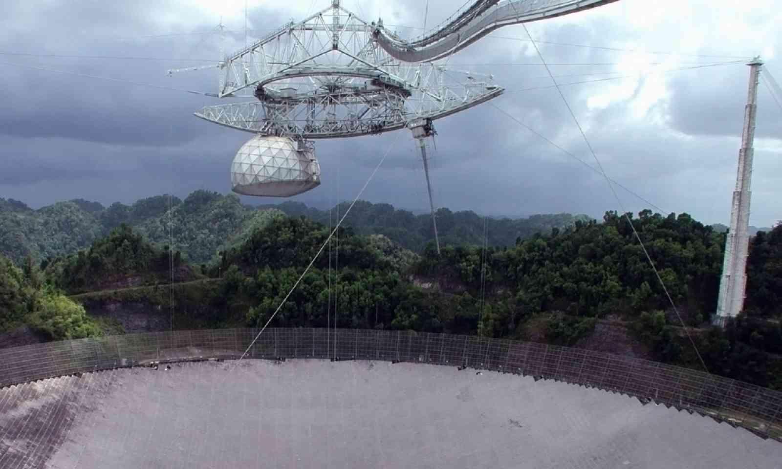 Arecibo Observatory (Shutterstock)